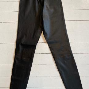 Sorte leggings i det blødeste læder. Super kvalitet.