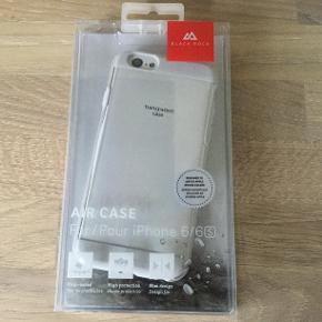 Black Rock gennemsigtigt cover til iPhone 6 og 6 S. Spritnyt!  Virkelig god kvalitet. Butikspris 150 kr.