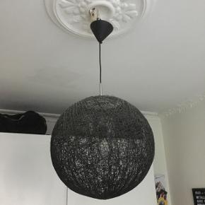 Stor Sort loftslampe