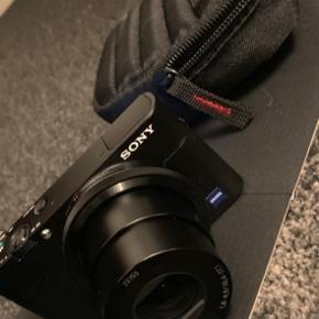 Aldrig brugt - memory card inklusiv :)  Sony