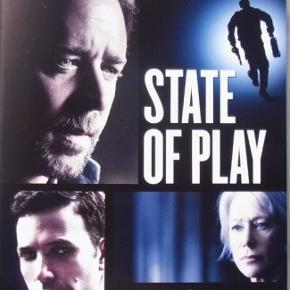 """Dvd film """" State of Play """"  Mindstepris : 25 kr plus porto Porto er 37 kr. med DAO uden omdeling  MÆNGDERABAT VED KØB FRA FLERE KAN DEN KØBES MED FOR 22 KR PLUS EVT MER PORTO  TAG 5 DVD FILM FOR 110 KR PLUS PORTO  DER KAN VÆRE OP TIL 5 DVD FILM I PORTOEN TIL 37 KR MED DAO UDEN OMDELING  Bytter Ikke"""