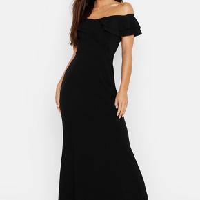 Sort galla/fest kjole