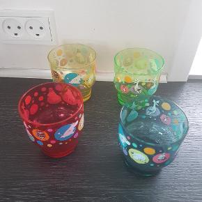 Mumi plastik glas  Nye  Samlet pris   Moomin mummi