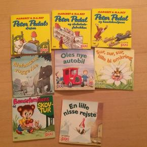 Diverse børnebøger/pixibøger, 10kr stk