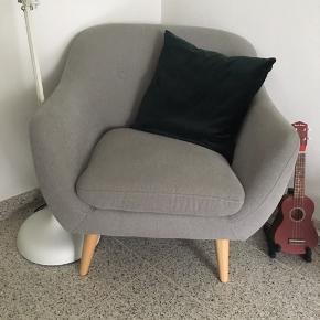 Flot og velholdt sofa og lænestol