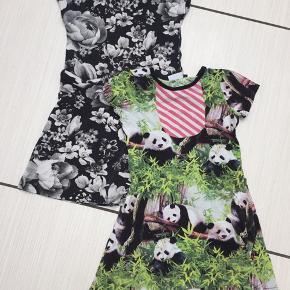 Fine kjoler. Brugt en del. Pandakjole har et microhul, se foto