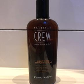 American Crew light hold texture lotion.  Brugt 1/3 del.