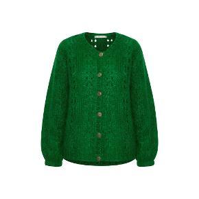 Gestuz Strik - Behara Cardigan, Jolly Green Sidder som på sidste billede