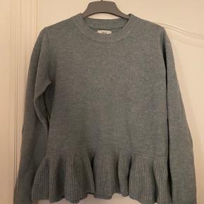 Fin blålig/grålig sweater i lækker kvalitet 🍀💙