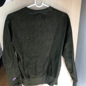 Reverse-weave champion sweater i mørkegrøn Super lækker, ingen tegn på slid