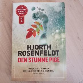 """""""Den stumme pige"""" af Hjorth Rosenfeldt."""