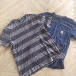 Carhartt t- shirt med bryst lomme  Del Palma med striber  Begge str m