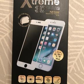 3D glass til iPhone 6/6s/7/8 plus