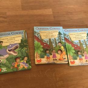 Dinosaurus bøger fra MCDoanlds
