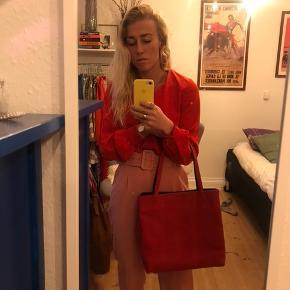 Vintage læder taske ! Så smuk. Sælges da jeg ikke får den brugt