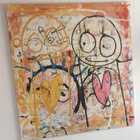 Sælger dette fine Poul Pava billede. Det er et kæmpe stort billede!  500 kr. 😊😊