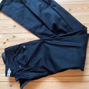 Sorte denim bukser, str. M/32