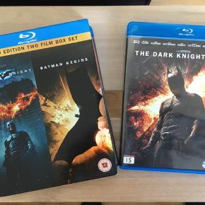 The Dark Knight Trilogy på blu-ray.