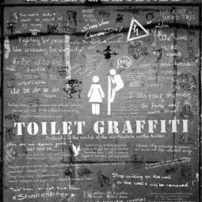 Plakat - toilet graffiti 🙌🏼