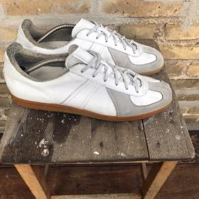 Vintage BW army sneakers Hvide / grå Str 45,5