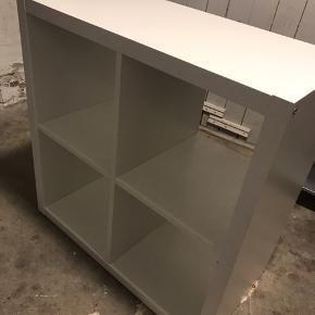 Ikea Kallax Bookcase med 4 rum