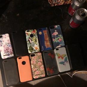 Forskellige covers til iPhone 6s 10 kr pr stk