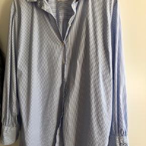 Skjorte lang oversize