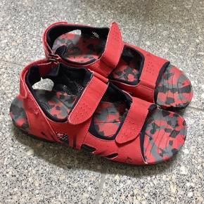 Ecco sandaler i rød brugt få gange str. 38 - kom gerne med et bud 👡