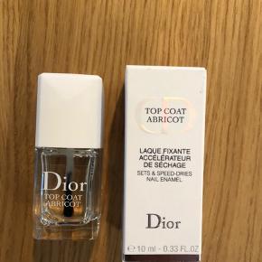 Dior top coat abricot, ny