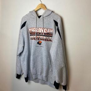 super fed vintage / retro hoodie / hættetrøje