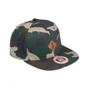 Fed camouflage SNAPback cap fra Statewear.  Giv et bud