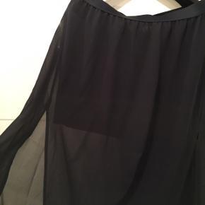 Fejler intet.  Gennemsigtig yderst med kort nederdel indenunder.