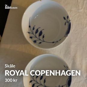 Royal Copenhagen skål