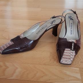 Elegant Peter Kaiser sko. Næsten uden brugsspor