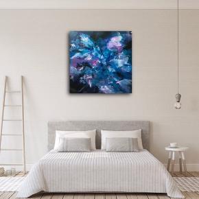 Maleri, akryl på lærred, 60x60 cm  Malet af mig.  Laver også bestillinger ☺️🙌🏻🎨