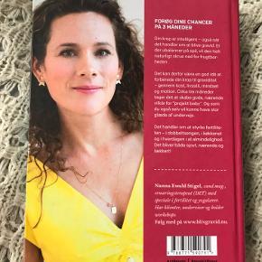 """""""Bliv gravid - sådan styrker du din fertilitet"""" af Nanna Ewald Stigel.  Anmeldereksemplar."""