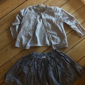 Zara cardigan og friends nederdel
