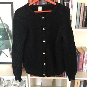 Fin sort strikket cardigan☺️