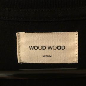 Sort Wood Wood hættetrøje. Str M   #Secondchancesummer