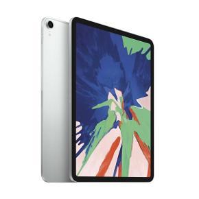 Apple iPad Pro 2018 11.0 512GB Silver Ny i indpakning med kvittering.  Nypris - 10.500 kr  Kom evt med et bud.