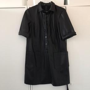 Zara Leather Dress Size M