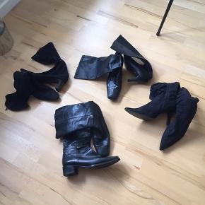 Brugte støvler, men stadig brugbare. 25kr pr par .