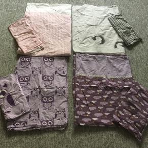 Sengetøj der passer til junior dyne. Har 4 sæt alle gmb. Pris 30 kr/sæt eller alle 4 for 110 kr
