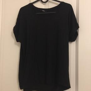 T-shirt i sort og oliven grøn. Aldrig brugt.  Samme t-shirt og samme størrelser.  Én stk 60kr To stk 100kr Køber betaler fragten :)