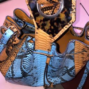 Imprægneret lædertaske