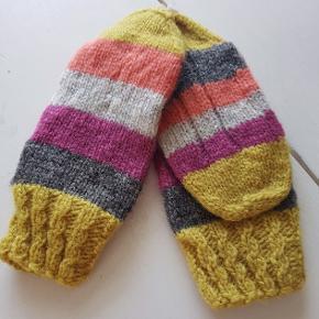 Hjemmestrømper, strikket i 100% uld.   Str 38-39. Fast pris.   #s#zerowaste