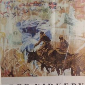 Plakater i rammer  90 kr stk  100x70 cm