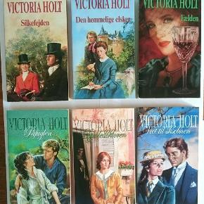 80 kr. for alle 6 bøger på billedet. 📚