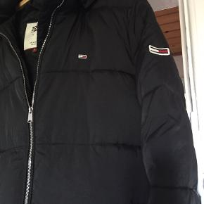 Super fed parka coat , aftagelig hætte