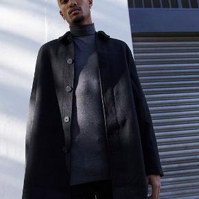 Asos frakke i uldblanding